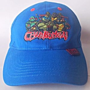 Other - Teenage Mutant Ninja Turtles COWABUNGA Hat velcro
